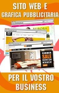 Sito web e grafica pubblicitaria per il vostro business