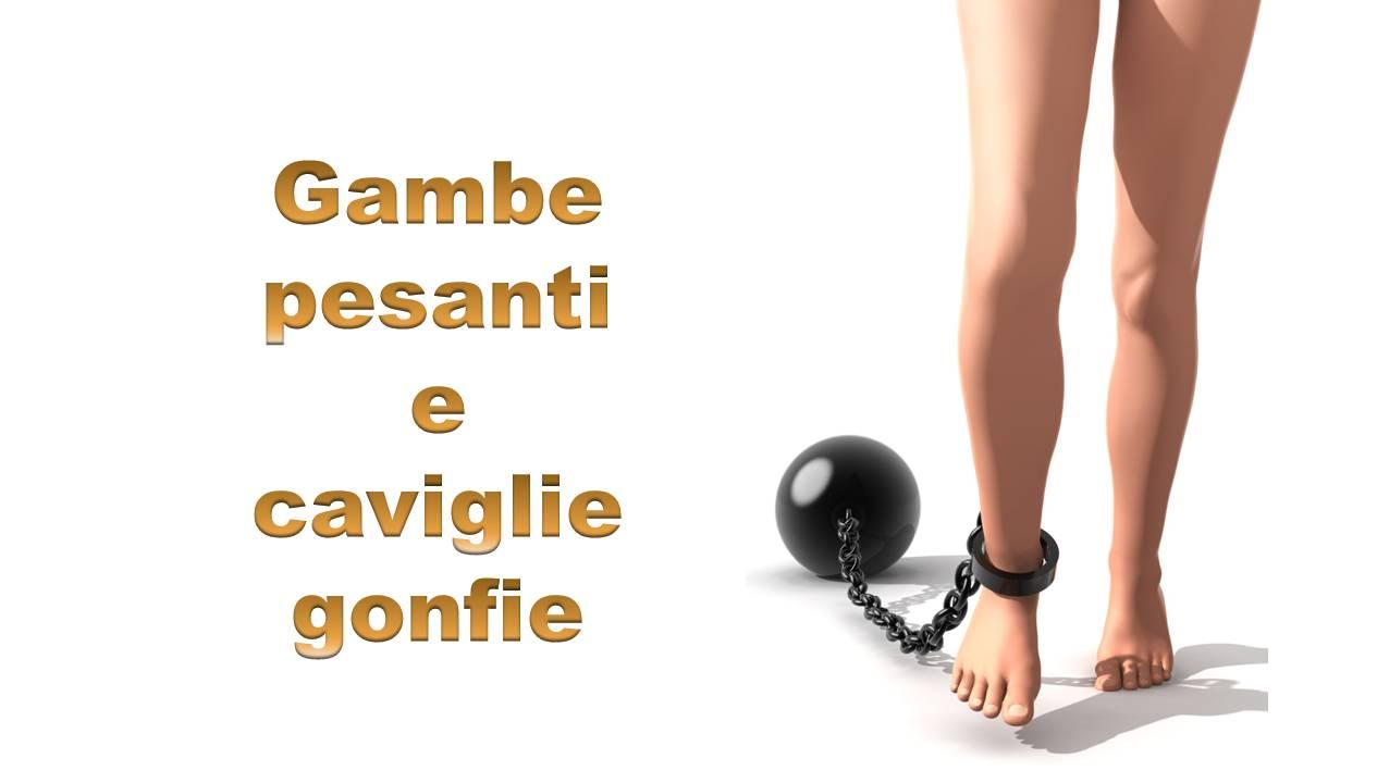 Gambe e caviglie gonfie: esercizi