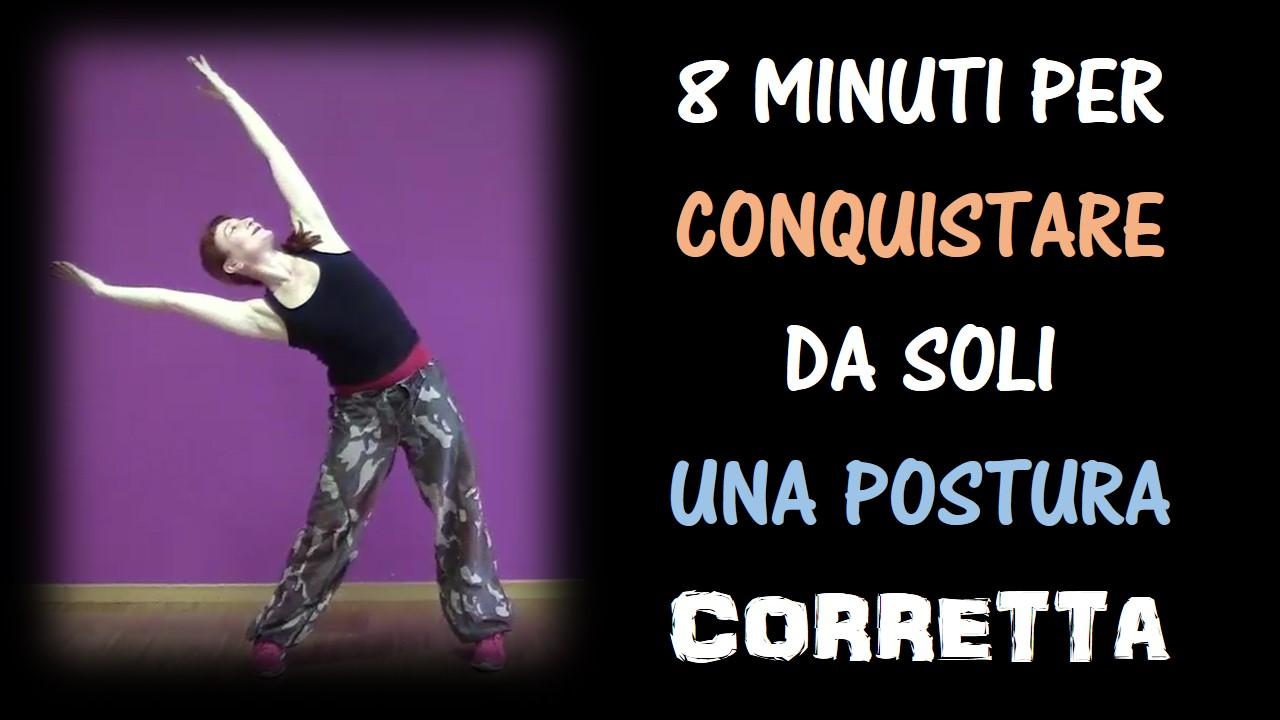 Video-allenamento posturale per il tratto dorsale