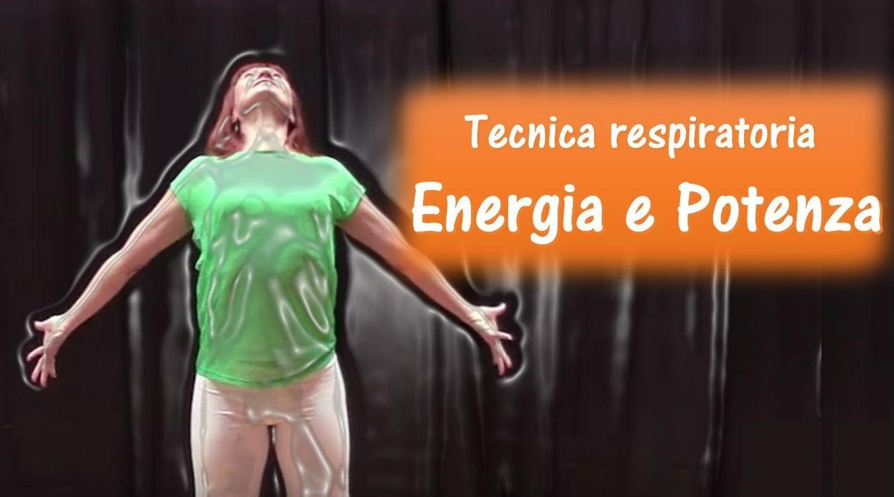 """Tecnica respiratoria """"Energia e Potenza"""""""