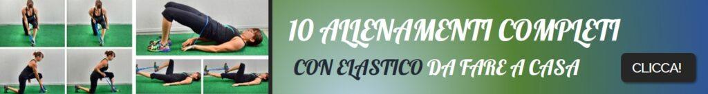 10 Allenamenti con elastico
