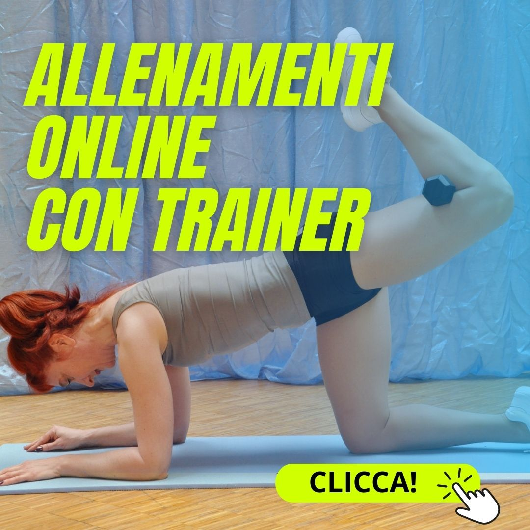 Fitness online con trainer